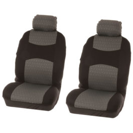 Seat Cover Front 4 pcs 'Chicago' grey