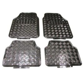 Floormats Uni 'Chrome ' Alu