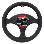 Steering Wheel Cover Matt Black Finish