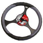 Steering Wheel Cover 'Black/Grey'