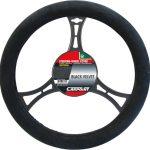 Steering Wheel Cover 'Black/Velvet'