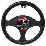 Steering Wheel Cover Leatherlook 38 cm
