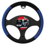 Steering Wheel Cover Black/Blue