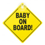 Baby on Board Suction Type