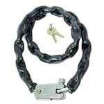 Chain & Lock 105 cm 5.5 x 5.5 mm