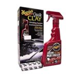 Meguiar's Quik Clay Bar Starter Kit with 80g of clay and 473ml Detailer